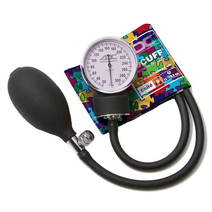 ADC Prosphyg 760 Pocket Aneroid Sphygmomanometer - Child - Puzzle Pieces