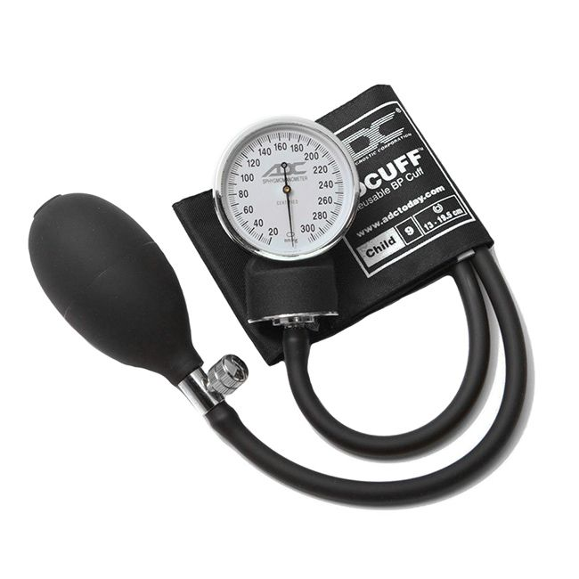 ADC Prosphyg 760 Pocket Aneroid Sphygmomanometer - Child - Black