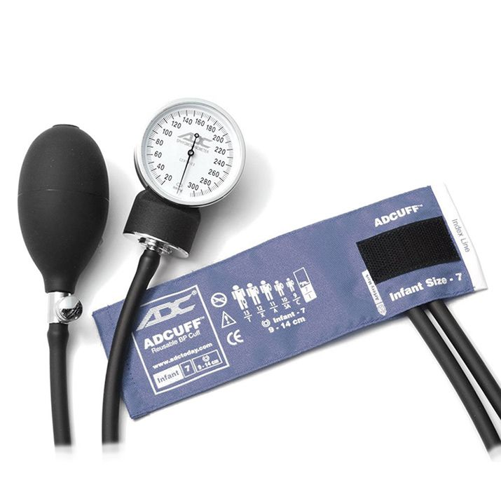 ADC Prosphyg 760 Pocket Aneroid Sphygmomanometer - Infant - Navy