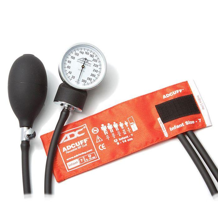 ADC Prosphyg 760 Pocket Aneroid Sphygmomanometer - Infant - Orange