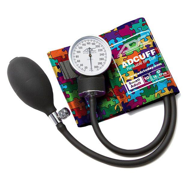 ADC Prosphyg 760 Pocket Aneroid Sphygmomanometer - Small Adult - Puzzle Pieces