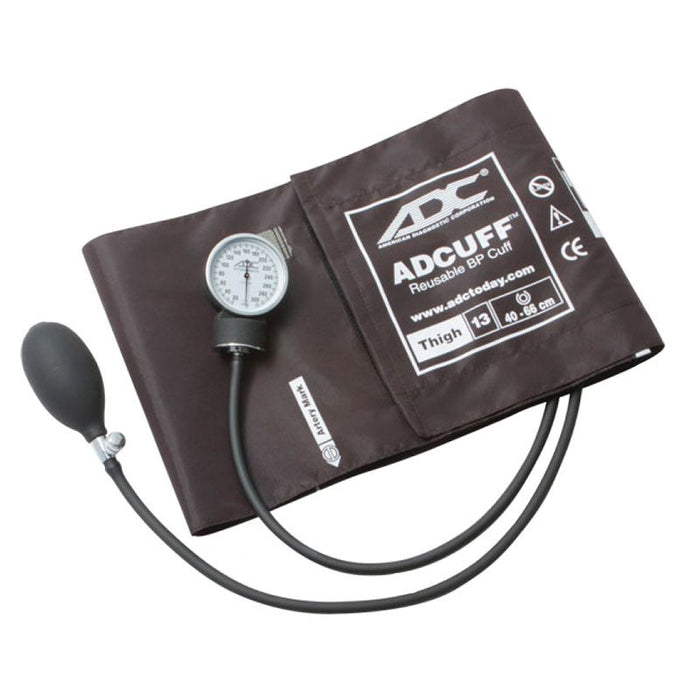 ADC Prosphyg 760 Pocket Aneroid Sphygmomanometer - Thigh - Brown