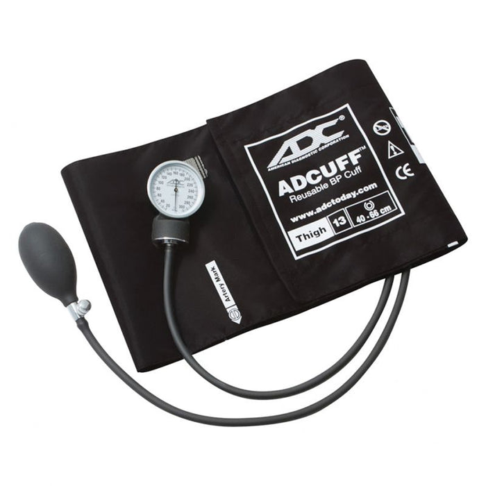 ADC Prosphyg 760 Pocket Aneroid Sphygmomanometer - Thigh - Black