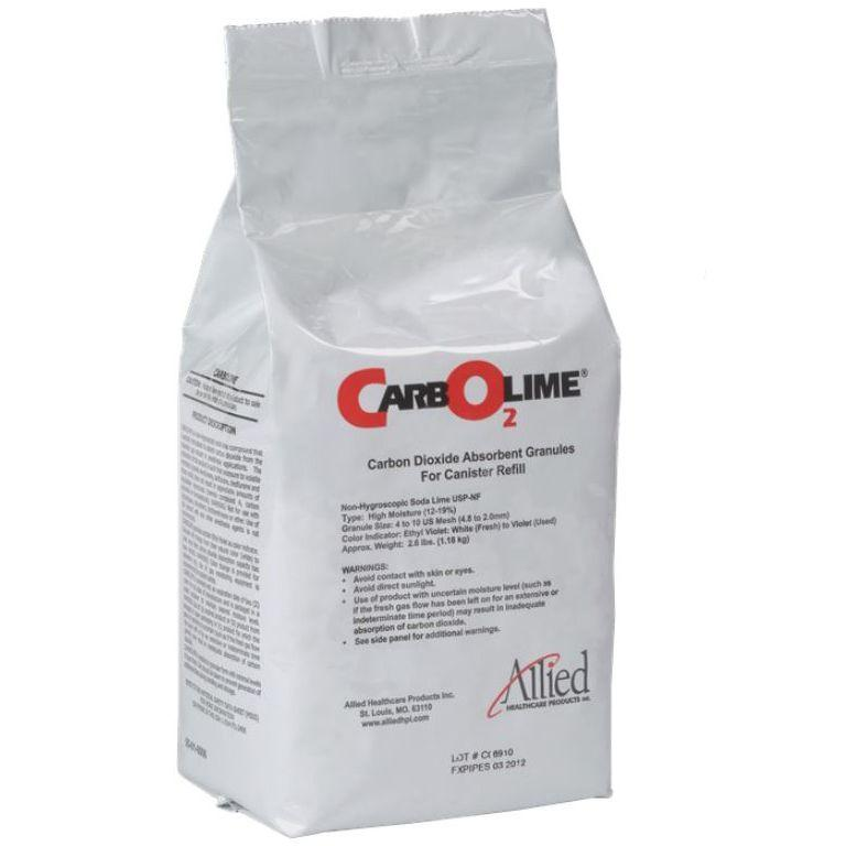 Allied Healthcare Carbolime Carbon Dioxide Absorbent - Bag Refill
