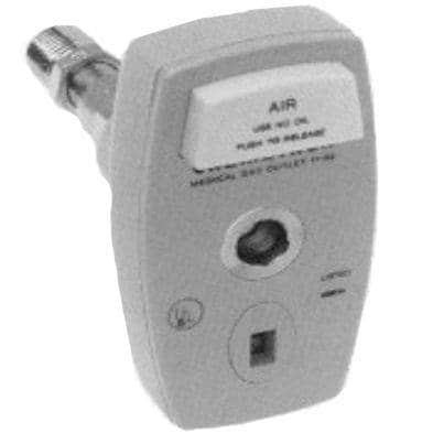 "Allied Healthcare Chemetron Quick-Connect to 1/4"" NPT Male Coupler"