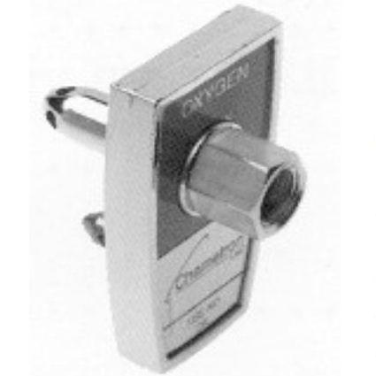 "Allied Healthcare Chemetron Quick-Connect to 1/8"" NPT Female Adapter"