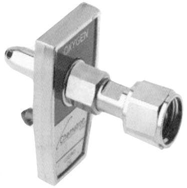 Allied Healthcare Chemetron Quick-Connect to DISS Female Hex Nut Adapter