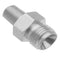 "Allied Healthcare DISS Male to 1/8"" NPT Male Fitting - With Check"