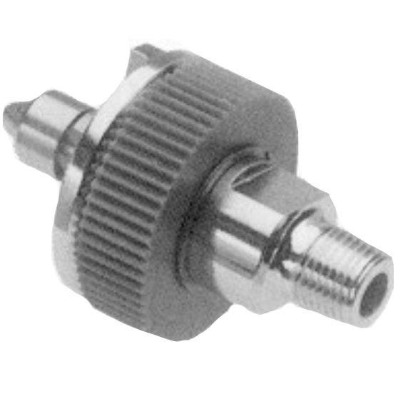 "Allied Healthcare Ohmeda Quick-Connect to 1/8"" NPT Male Adapter"