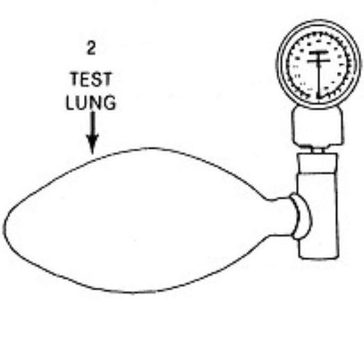 Allied Healthcare Minilator Test Lung
