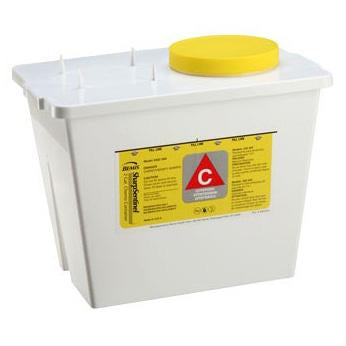 Bemis 2-Gallon Chemotherapy Container - White