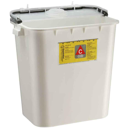 Bemis 8-Gallon Chemotherapy Container - White