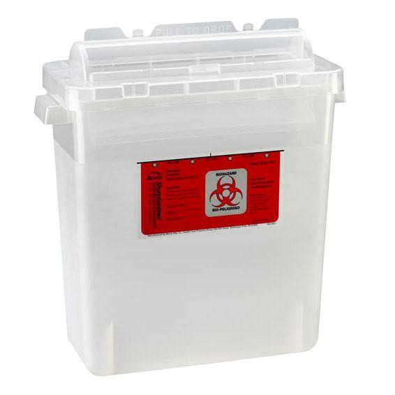 Bemis SharpSentinel 3-Gallon Sharps Container - Translucent Beige
