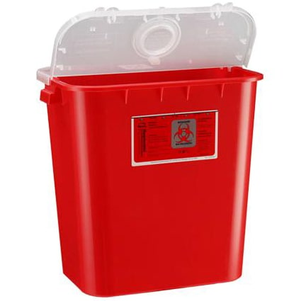 Bemis SharpSentinel 8-Gallon Sharps Container - Red