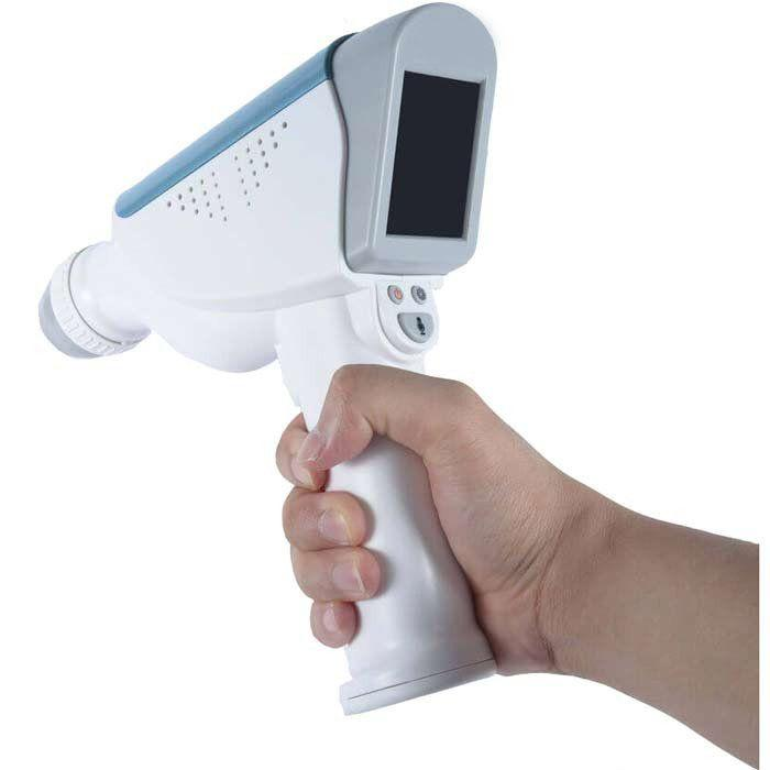 Caresono PadScan HD2 Bladder Scanner in use