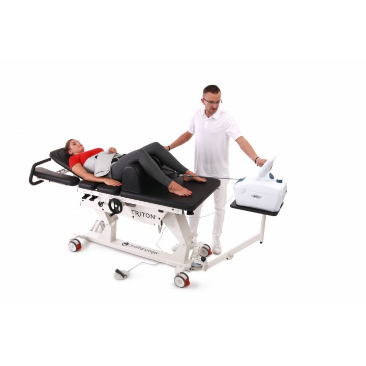 Chattanooga Triton 6M Traction Table - with Patient