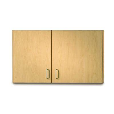 "Clinton 42"" Wall Cabinet with 2 Doors (Extended Right Door) - Maple"