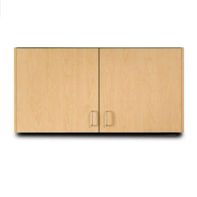 "Clinton 48"" Wall Cabinet with 2 Doors - Maple"