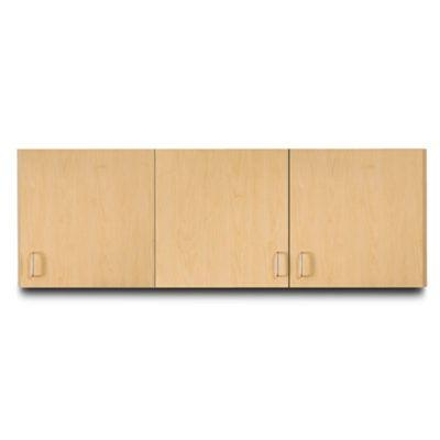 "Clinton 72"" Wall Cabinet with 3 Doors"