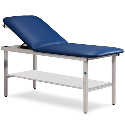 Clinton Alpha Series Treatment Table with Shelf