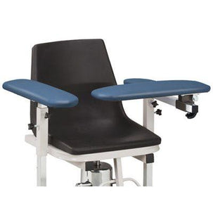 Clinton H Series E-Z-Clean Hydraulic Blood Drawing Chair - Features