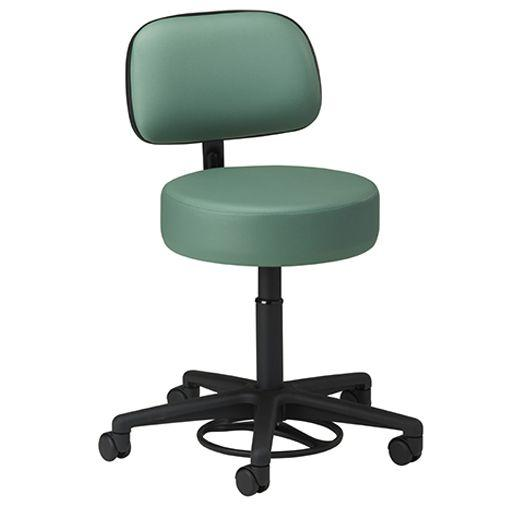 Clinton Hands-Free Stool with Backrest