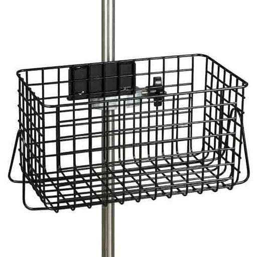 Clinton IV Pole Heavy Duty Wire Basket