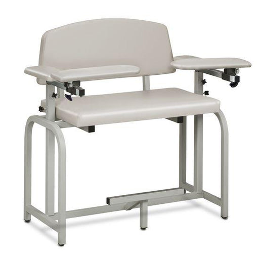 Clinton Lab X Series Extra-Wide and Extra-Tall Blood Drawing Chair with Padded Arms