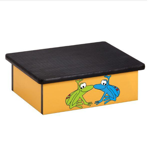 Clinton Rainforest Tree Frogs Yellow Laminate Step Stool