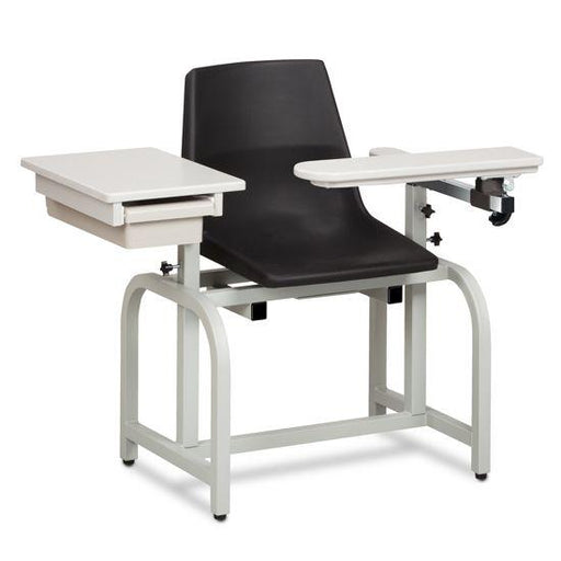 Clinton Standard Lab Series Blood Chair with ClintonClean Flip Arm and Drawer