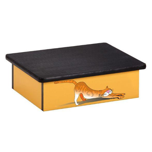 Clinton Stretching Cat Laminate Step Stool