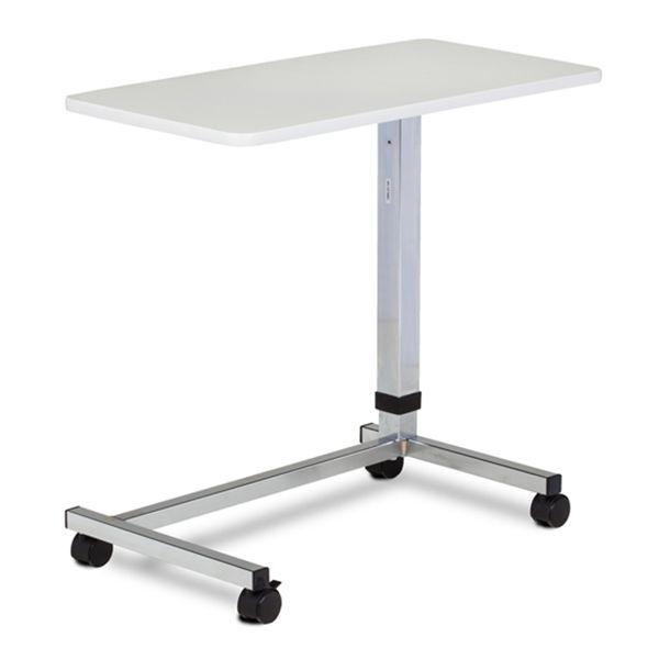 Clinton U-Base Over Bed Table - Gray