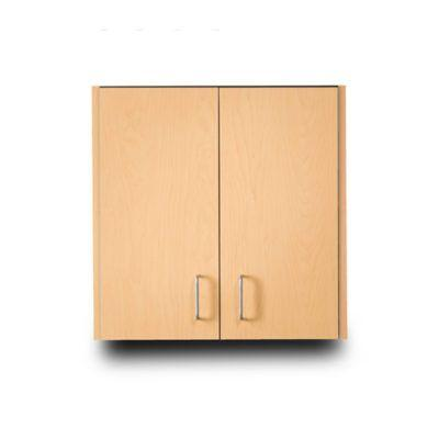 Clinton Wall Cabinet with 2 Doors - Maple