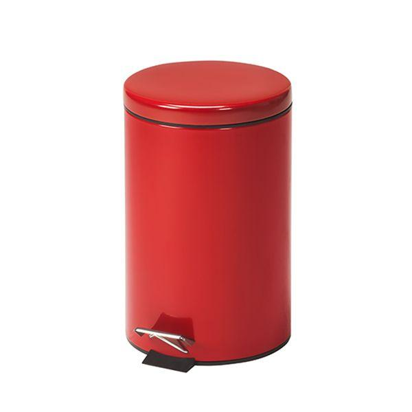 Clinton Waste Can - 13 QT Red Round