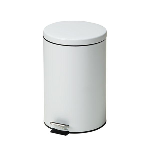Clinton Waste Can - 20 QT White Round