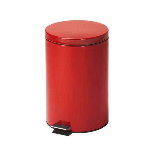 Clinton Waste Can - 20 QT Red Round