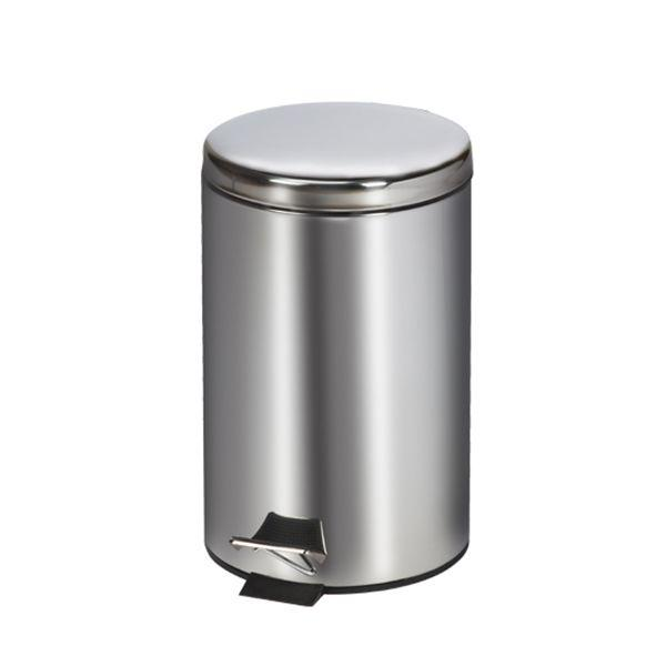 Clinton Waste Can - 13 QT Stainless Steel