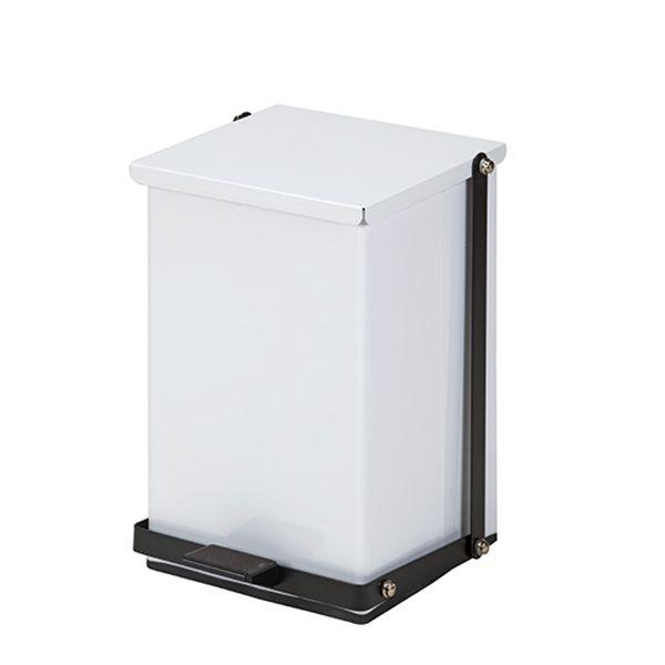 Clinton Waste Can - 24 QT White Premium