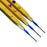 ConMed Goldline Push Button Electrosurgical Pencil - Three