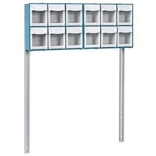 Detecto 12-Bin Organizer with Accessory Bridge