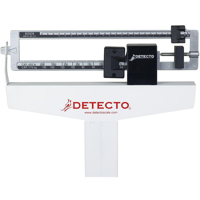 Detecto 339 Physician Scale Weigh Beam - Back