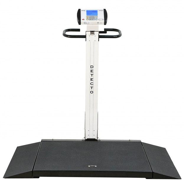 Detecto Digital Portable Fold-Up Wheelchair Scale