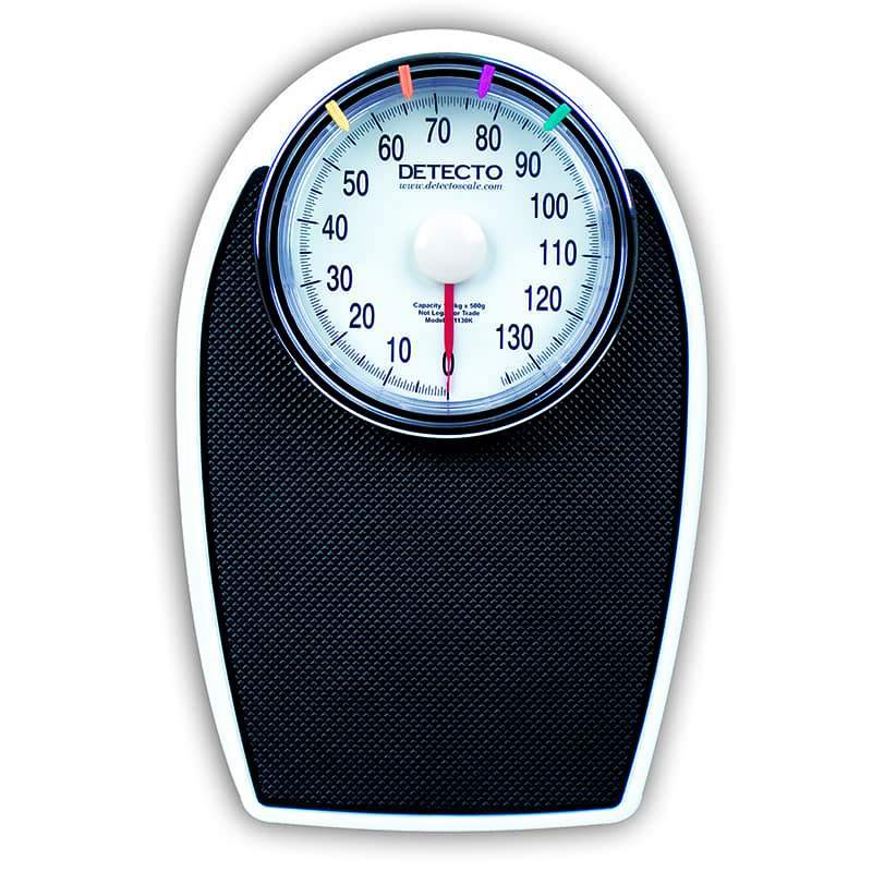 Detecto Low-Profile Dial Bathroom Scale - Model D-1130K