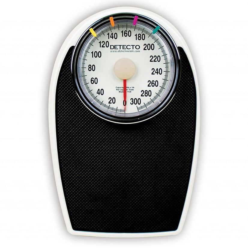 Detecto Low-Profile Dial Bathroom Scale - MFI Medical