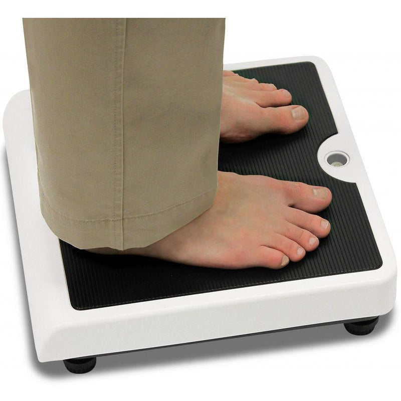 Detecto ProDoc PD100 Low-Profile Digital Doctor Scale in use