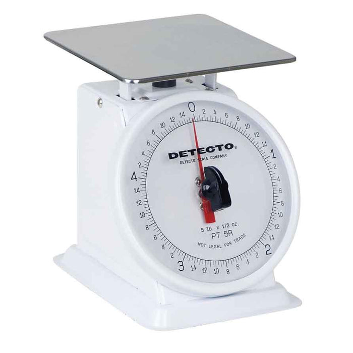 Detecto PT Series Top Loading Dial Scale - Baked Enamel