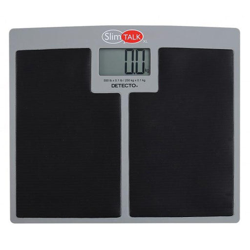 Detecto SlimTALK XL Talking Home Health Scale