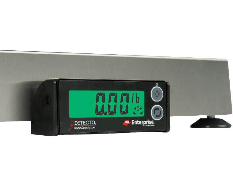 Detecto Compact Digital Veterinary Scale - Close Up