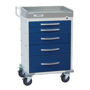 Detecto Whisper Series Anesthesiology Medical Cart