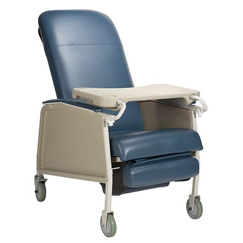 Dynarex Bariatric Geri Chair Recliner - Blueridge